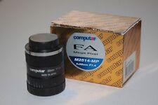 25mm Computar M-2514 MP GoPro/Machine Vision CS Mount Camera Lens