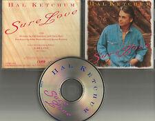 HAL KETCHUM Sure Love Ultra Rare PROMO Radio DJ CD single 1992 USA MINT