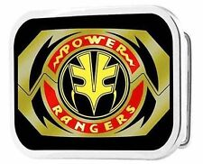 Power Rangers Tigerzord Morpher Chrome Rock Star Belt Buckle NEW