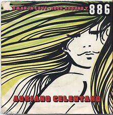 "ADRIANO CELENTANO - A woman in love Rock around - VINYL 7"" 45 LP 1977 VG+/VG-"