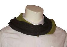 Codello 12088205 COL 14 Uomo Sciarpa Verde/grigio cashmere Cashmere NUOVO