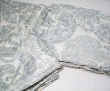 Pottery Barn Multi Colors Gray Samantha Damask Full Queen Duvet Cover 2 Shams