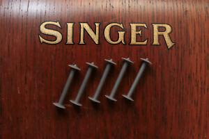 5 x Sewing Machine Bobbins for Vintage Singer 127 128 27 28 48 Shuttle Machines