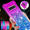 For Samsung Galaxy S10+ S20 S8 S9 Note 10 Phone Case Bling Glitter Soft Silicone