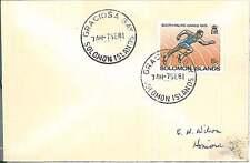 POSTAL HISTORY  - SOLOMON ISLAND : GRACIOSA BAY postmark on COVER 1981