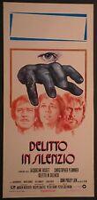 Locandina DELITTO IN SILENZIO 1975 JACQUELINE BISSET, CHRISTOPHER PLUMMER
