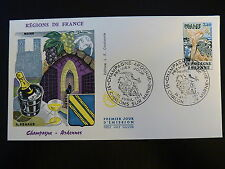 FRANCE PREMIER JOUR FDC YVERT  1920  CHAMPAGNE ARDENNE  3,20F CHALONS/MARNE 1977