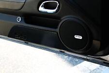 2010-2014 Chevrolet Camaro Billet Door Kick Plates SS Logo Black