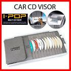 Carex Multi CAR AUTO BLACK SUN VISOR CD HOLDER ORGANIZER STORAGE AUTO TRUCK