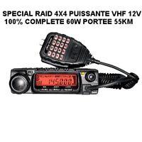 PROMO ! HYPER PUISSANTE VHF FIXE 60W PORTEE 55KM! SPECIAL 4X4 ULM TAXI DEPANNEUR