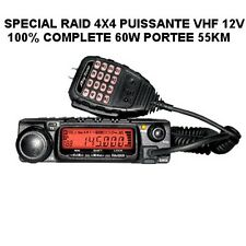 PUISSANTE VHF FIXE 60W PORTEE 55KM! 4X4 AVION ULM! MATERIEL DE PRO CF THURAYA