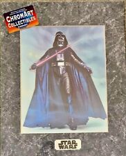Star Wars Darth Vader Chromart Poster Zanart Print COA Vintage Limited Ed