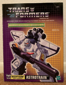 Transformers G1 Astrotrain Transformers Generation One Commemorative Series MISP
