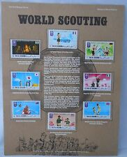 Postal Commemorative Society World Of Stamps World Of Scouting Ras Al Khaima