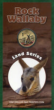 """2008 $1 Uncirculated Coin: Land Series - """"Rock Wallaby."""""""