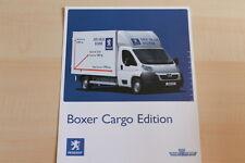 76621) Peugeot Boxer Cargo Edition Prospekt 02/2007