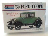 Monogram 30 Ford Coupe Special Interest Series 1/24 7551 (FACTORY SEALED)