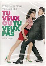 """DVD """"Tu veux ou tu veux pas"""" Marceau- Bruel     NEUF sous blister"""