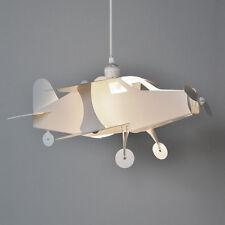 Para Niños Niños Dormitorio Infantil Avión De Techo Colgante Luz Pantalla De Lámpara Luces