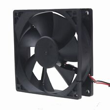 20pcs 92mm 90mm 12V 2Pin 92x25mm DC Brushless Case Cooling Fan Free Shipping
