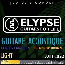 Elypse - Jeu de cordes pour guitare acoustique AS-783C - 11-52