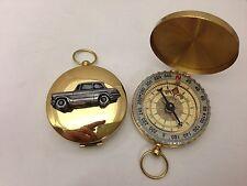 TRIUMPH Herald 948 SAL. ref249 PELTRO effetto auto emblema su una bussola d'oro