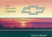 1995 Chevrolet Camaro Owners Manual User Guide Reference Operator Book Fuses