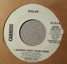 Dollar – I Wanna Hold Your Hand ~ Promo ~ (M-)