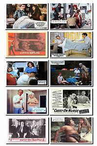 CARRY ON FILMS - LOBBY CARD POSTCARD SET # 3
