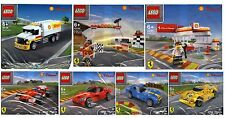 7x LEGO FERRARI SHELL V-Power 2.set 40190 40191 40192 40193 40194 40195 40196