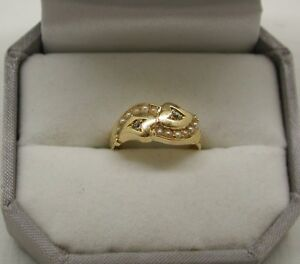 Beautiful Victorian 18ct Gold Pearl And Diamond Ring