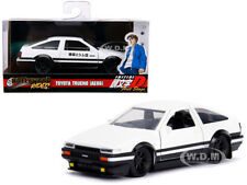 "TOYOTA TRUENO AE86 WHITE ""INITIAL D FIRST STAGE"" TV SERIES 1/32 BY JADA 99801"