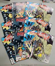 Batman Year Three Complete Set (1989) NM - #436-#439