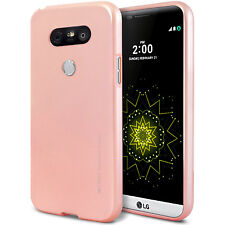 LG G6 G5 G4 G3 K10 V10 V20 Case GOOSPERY Ring2 i-Jelly Clear Jelly Metal Cover
