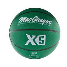 MacGregor Intermediate Size Basketball Indoor outdoor Sport Team Game Green