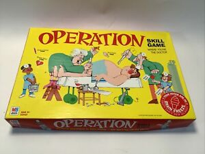 Milton Bradley 4545 Operation Game with Cards Board Game