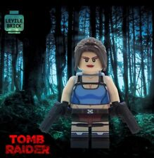 **NEW** LYL BRICK Custom Tomb Raider Lara Croft Minifigure