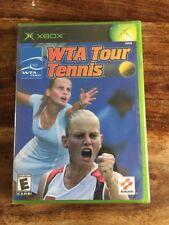 Xbox 1er Génération WTA Tour Tennis/Ntnc /us/Neuf /New And Sealed