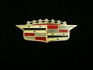 1956 Cadillac Hood Crest Emblem