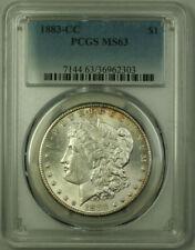 1883-CC Morgan Silver Dollar $1 Coin PCGS MS-63 (20)