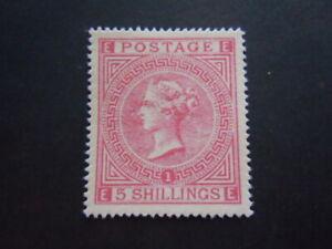 Gran Bretagna 1862 Regina Rarissimo perfetto francobolli nuovo M.N.H** RRR 1