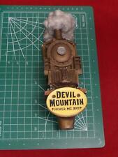 RARE Devil Mountian Summer MT. Brew Locomotive Beer Tap Handle