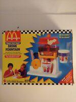 McDonald's Drink Fountain Soda Pop Machine MATTEL Works RARE Happy Meal 1990s