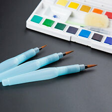 S+M+L Water Brush Pen Art Crafts Tool Watercolor Painting Calligraphy Ink Set