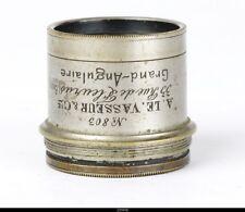 LENS Brass   A.LE .VASSEUR PARIS GRAND ANGULAIRE 20cm No.803