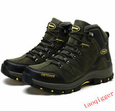 New Mens High Top Military Tactical shoes Desert Army Hiking Combat Ankle Boots