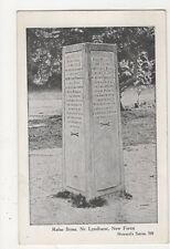Rufus Stone, near Lyndhurst, Howard's Series Postcard, B397