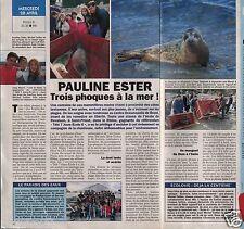 Coupure de presse Clipping 1993 Pauline Ester & les Phoques  (1 page 1/2)