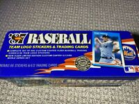 1987 Fleer baseball TIN set-Bonds, BO, Clark, loaded with rookies