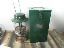 COLEMAN LANTERN 635 CHROME  W / CASE DATED 2 - 71   NO RESERVE